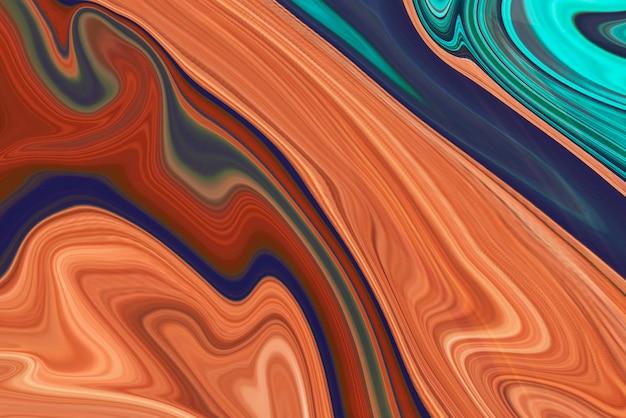 Abstrakcyjne tło atramentu pomarańczowego alkoholu