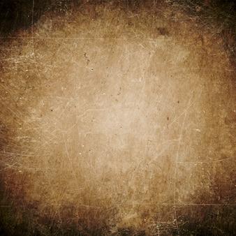 Abstrakcyjne tło brązowe, ciemne tło grunge puste, vintage, ściana