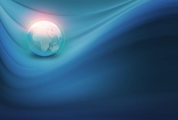 Abstrakcyjne tło globalnego połączenia
