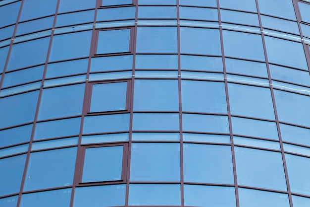 Abstrakcyjne tło i może być ilustracją do artykułu o budynku biurowym.