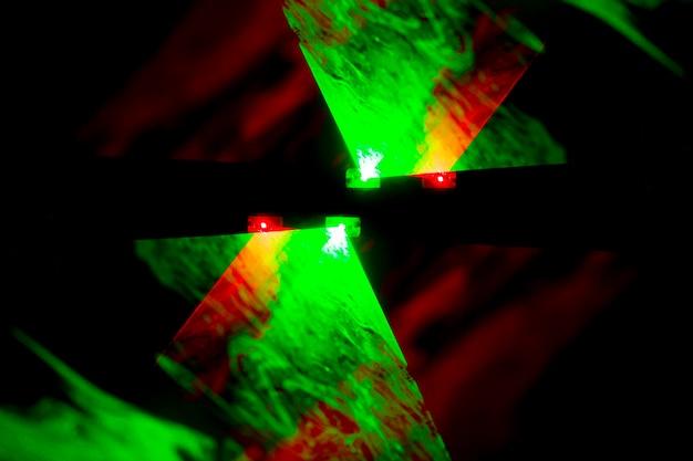 Abstrakcyjne tło lasera optycznego