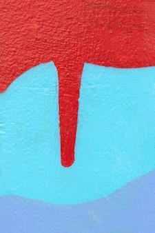 Abstrakcyjne tło malowane na ścianie
