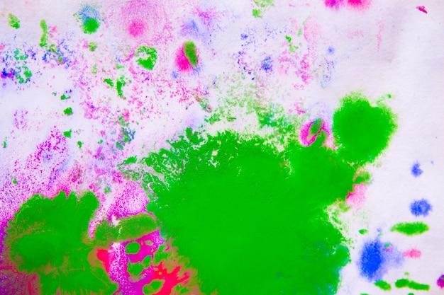 Abstrakcyjne tło plam różowych, zielonych i niebieskich