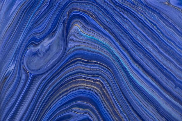 Abstrakcyjne tło płynne kolory granatowe kolory.