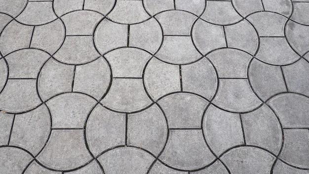 Abstrakcyjne tło, płytki na chodniku