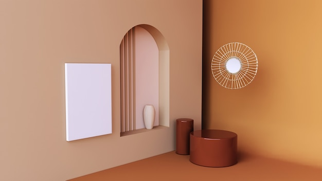 Abstrakcyjne tło, renderowanie 3d