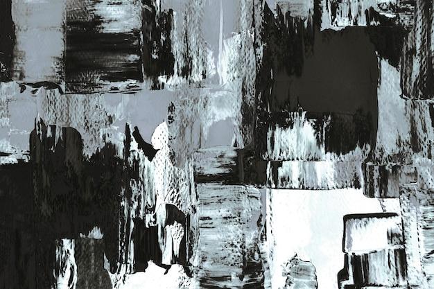 Abstrakcyjne tło tapety, teksturowane czarno-białe