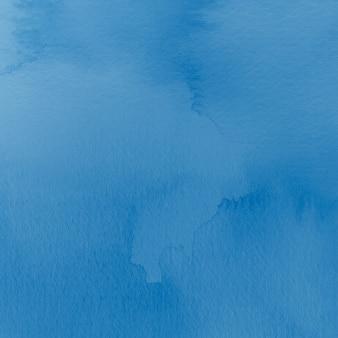 Abstrakcyjne tło w akwareli niebieskiej estetyce