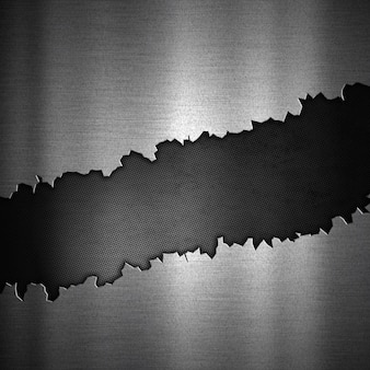 Abstrakcyjne tło z krakingu metaliczny projektu