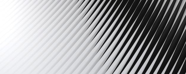 Abstrakcyjne tło z pasiastym wzorem i liniową teksturą gradient od białych do czarnych pasków