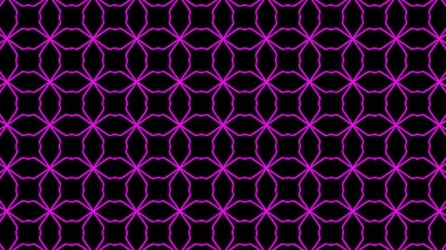 Abstrakcyjny fioletowy geometryczny bezszwowy wzór tło premium zdjęcia
