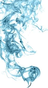 Abstrakcyjny kolorowy dym na jasnym tle