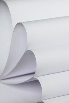 Abstrakcyjny wzór stosu zdjęć z białego papieru