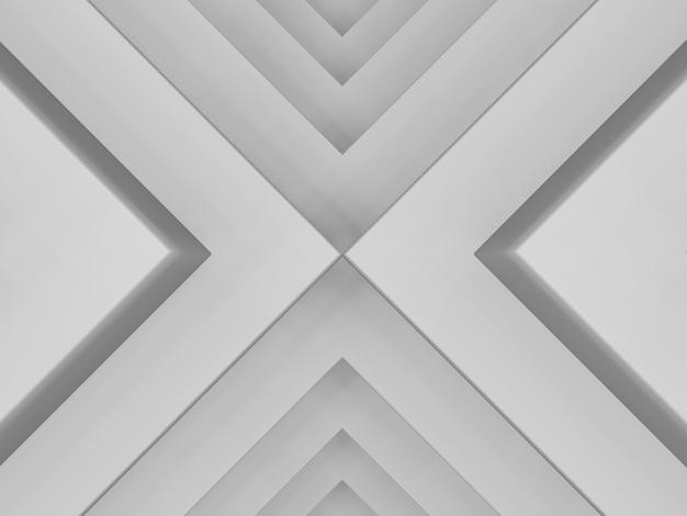 Abstrakcyjny wzór trójkątów z efektem przemieszczenia szare tło liczba trójkątów