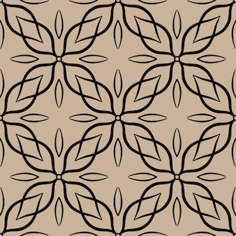 Abstrakcyjny wzór z motywem mozaiki płytki ozdobne koronki ornament. tekstury do druku, tkaniny, tkaniny, tapety.
