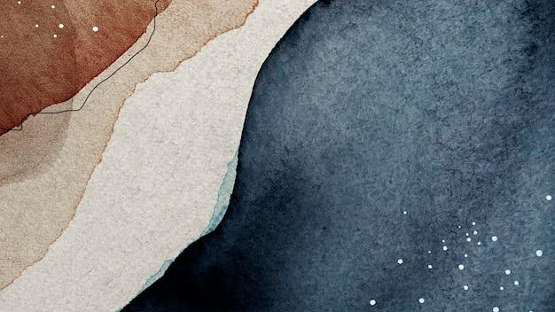 Abstrakcyjny, wzorzysty szablon społeczny w tonie ziemi