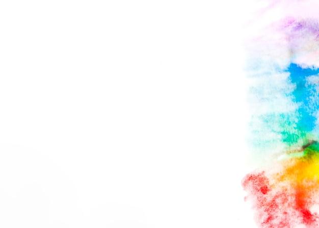 Abstrakt różna barwiona farba na papierze