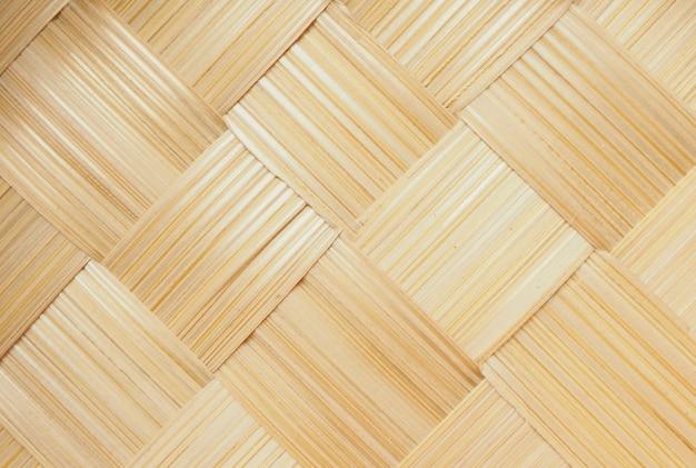 Abstrakt wyplata bambusowego tekstury tło