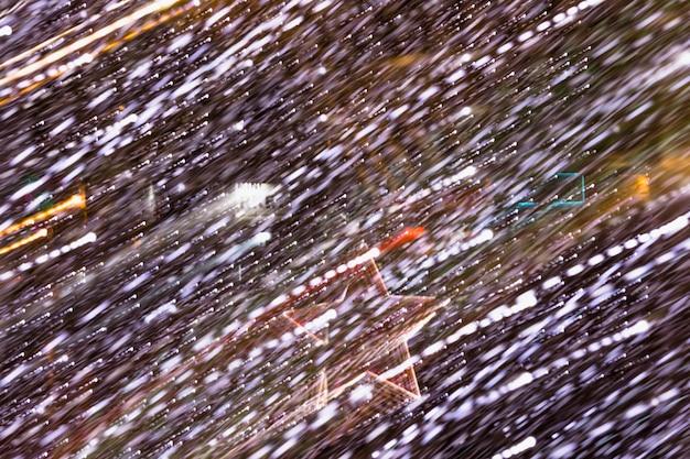 Abstrakta lekki tło z rozjarzoną gwiazdą