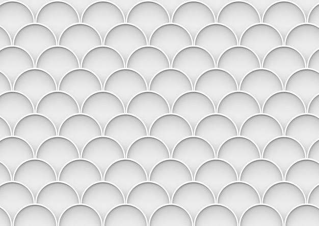 Abstrakta popielaty okrąg fala wzoru ściany tło.