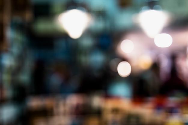 Abstrakta zamazany bokeh światła tło