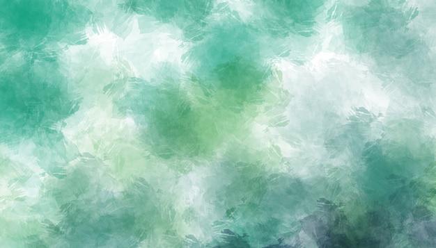 Abstrakta zielona akwarela malujący tło