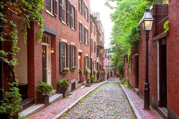 Acorn ulicy beacon hill brukowiec boston
