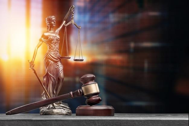 Adwokat równowagi adwokat antyczna piękna opaska na oczy