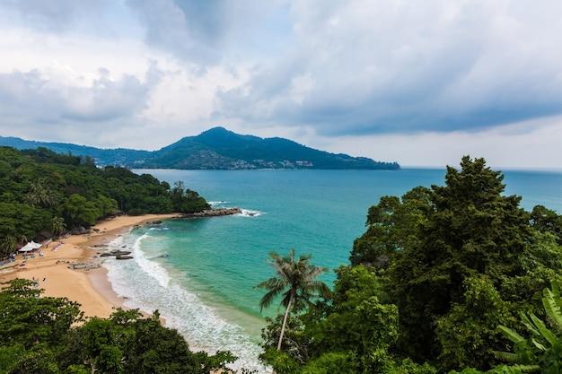 Aerial Strzał Tropikalna Wyspa Darmowe Zdjęcia