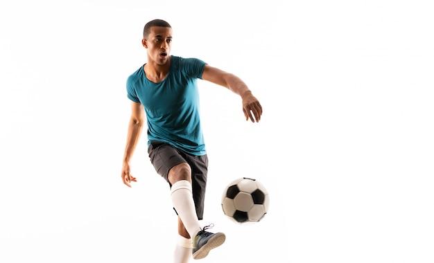 Afro amerykański piłkarz