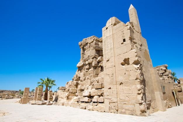 Afryka, egipt, luksor, świątynia karnak