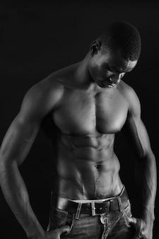 Afrykański mężczyzna