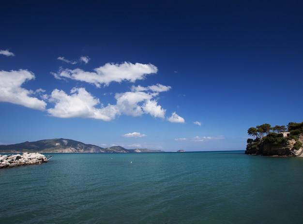 Agios sostis na wyspie zakynthos