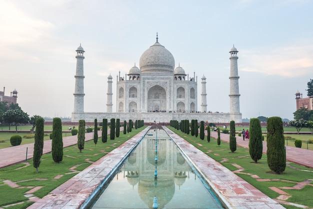 Agra miasto taj mahal india