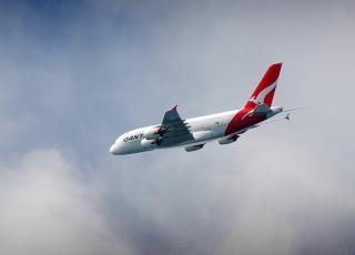 Airbus a380 linii qantas