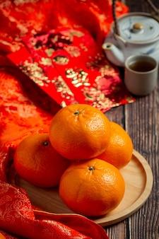 Akcesoria dekoracje festiwalowe chińskiego nowego roku.