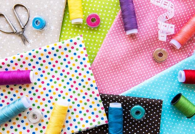 Akcesoria do szycia i tkaniny