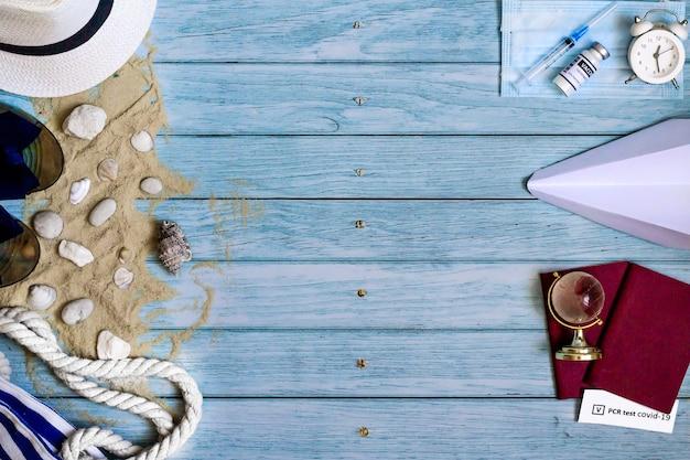 Akcesoria na letnie wakacje na plaży główne sposoby ochrony zdrowia przed szczepieniem covid19