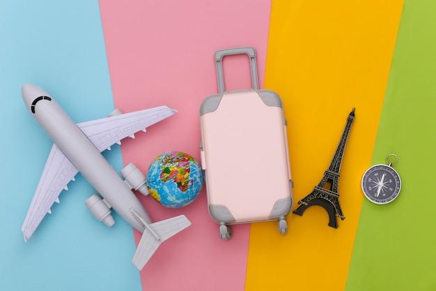 Akcesoria podróżne. planowanie koncepcji podróży