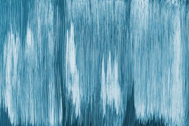 Akrylowe niebieskie tło z teksturą abstrakcyjna sztuka twórcza