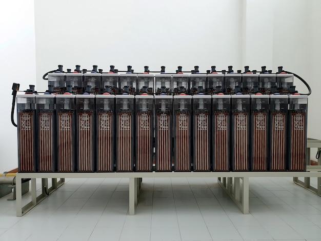 Akumulator do instalacji podstacji akumulator kwasowo-ołowiowy