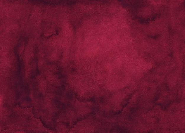 Akwarela bordowa tekstura