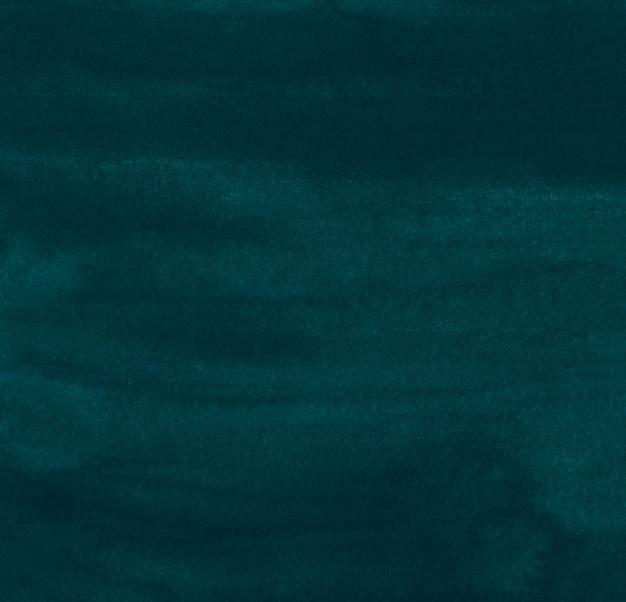 Akwarela ciemne grunge turkusowy zielony obraz tła