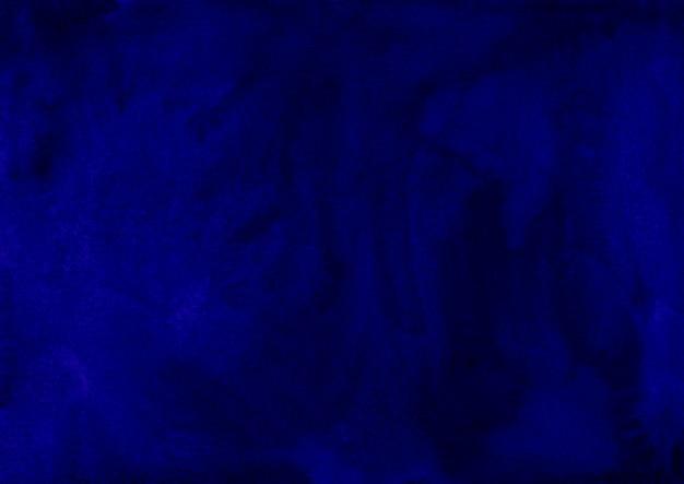 Akwarela ciemnoniebieskie tło tekstura ręcznie malowane