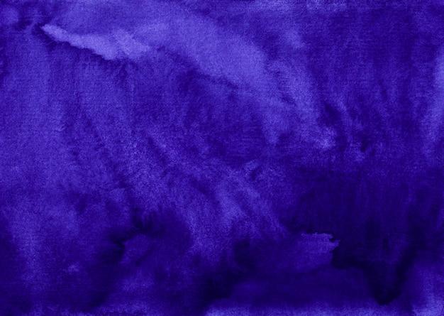 Akwarela głęboki królewski niebieski tekstura tło