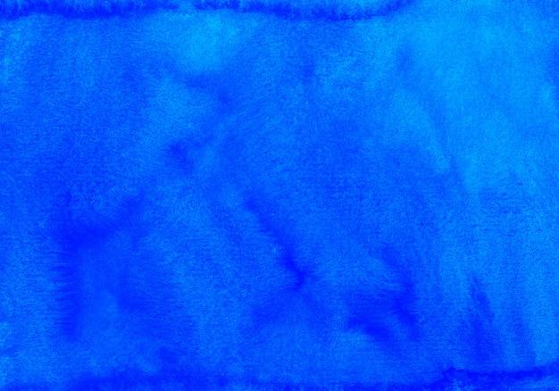 Akwarela głęboki niebieski tekstura tło ręcznie malowane