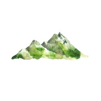 Akwarela góry