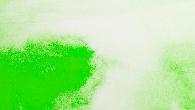 Akwarela gradientu zielonej farby abstrakta tło