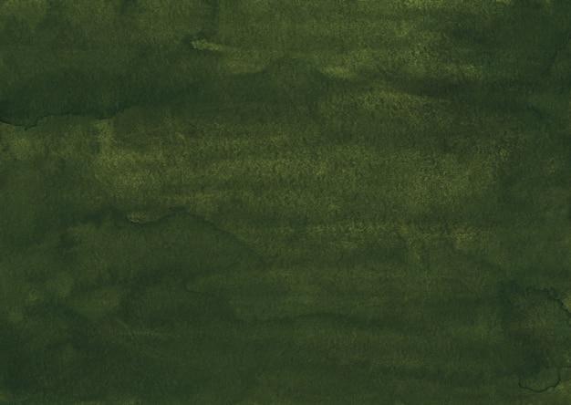 Akwarela grunge musztardowo-zielonym tle tekstury