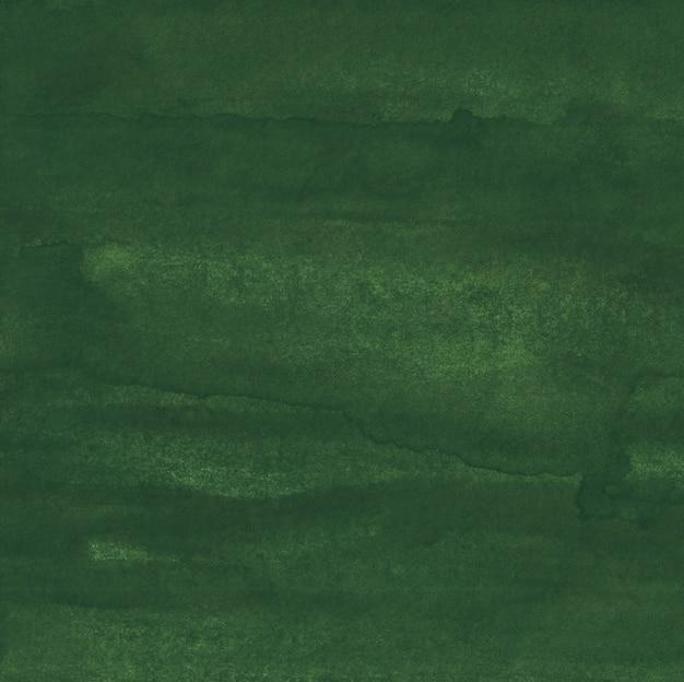 Akwarela grunge tekstury oliwkowej zieleni tła